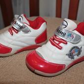 кроссовки ботиночки мокасины 15 см сост.новых