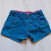 Яркие велюровые шорты для модницы. Mamas&Papas. Размер 3-6 месяцев. Состояние: новой вещи