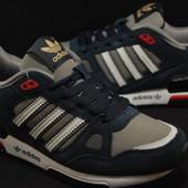 Кроссовки Adidas ZX750 . Женские и подростковые,натуральный замш-текстиль