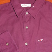 Hollister ! Шикарная брендовая рубашка ! - S- M