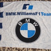Фирменный банер флаг BMW.
