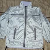 куртка двухсторонняя , р.134-140