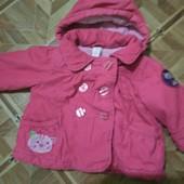 Фирменная детская теплая курточка уп 15