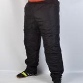 Спорт штаны плащёвка на флисе из Венгрии. Недорого