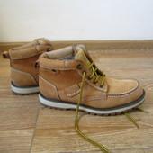 AM р.41 ботинки зимові утеплені шкіряні