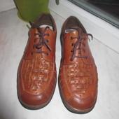 Кожаные летние туфли Rieker Antistress 41 р