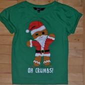 Новогодняя Рождественская футболка New Look