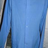 Фирменная стильная нарядная рубашка бренд Next s-m