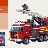 """констуктор Brick 904  """"Пожарная охрана"""", 364 дет"""