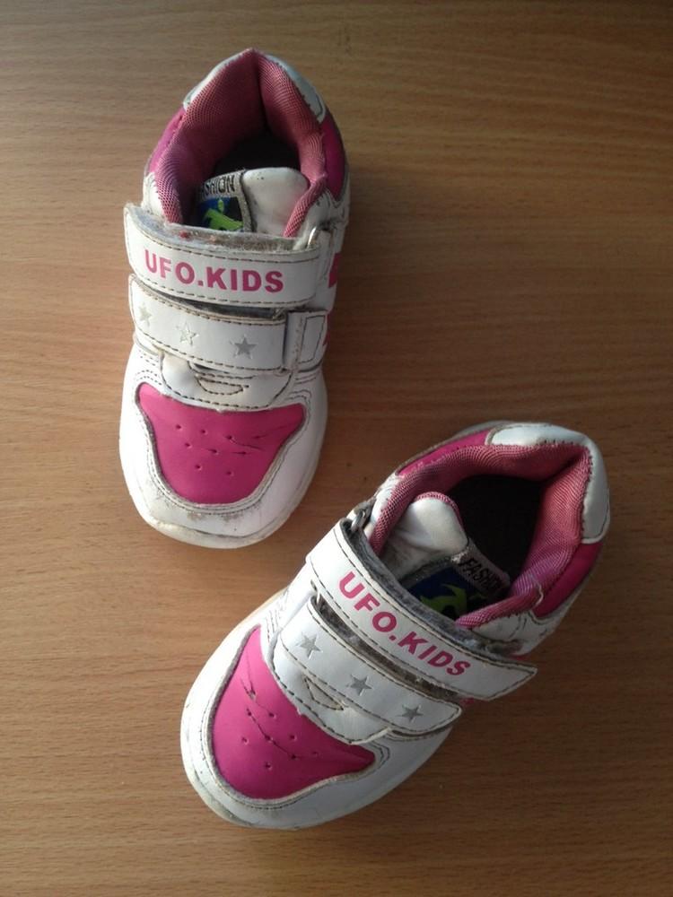 Кроссовки на девочку размер 23 длина стельки 14,5 см фото №1