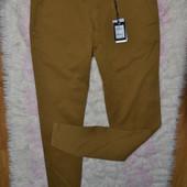 Новые чиносы брюки 32р бренд Delahaye