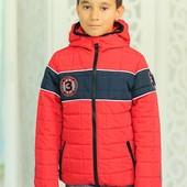Куртка детская осенняя с капюшоном
