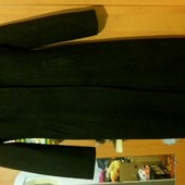 Пальто длинное с брошкою застёжкою/ р. М/46