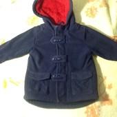 Пальто на мальчика 18 24мес.