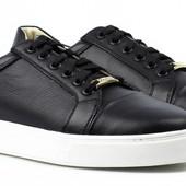 Кожаные кроссовки кеды Golderr р. 42 по распродаже