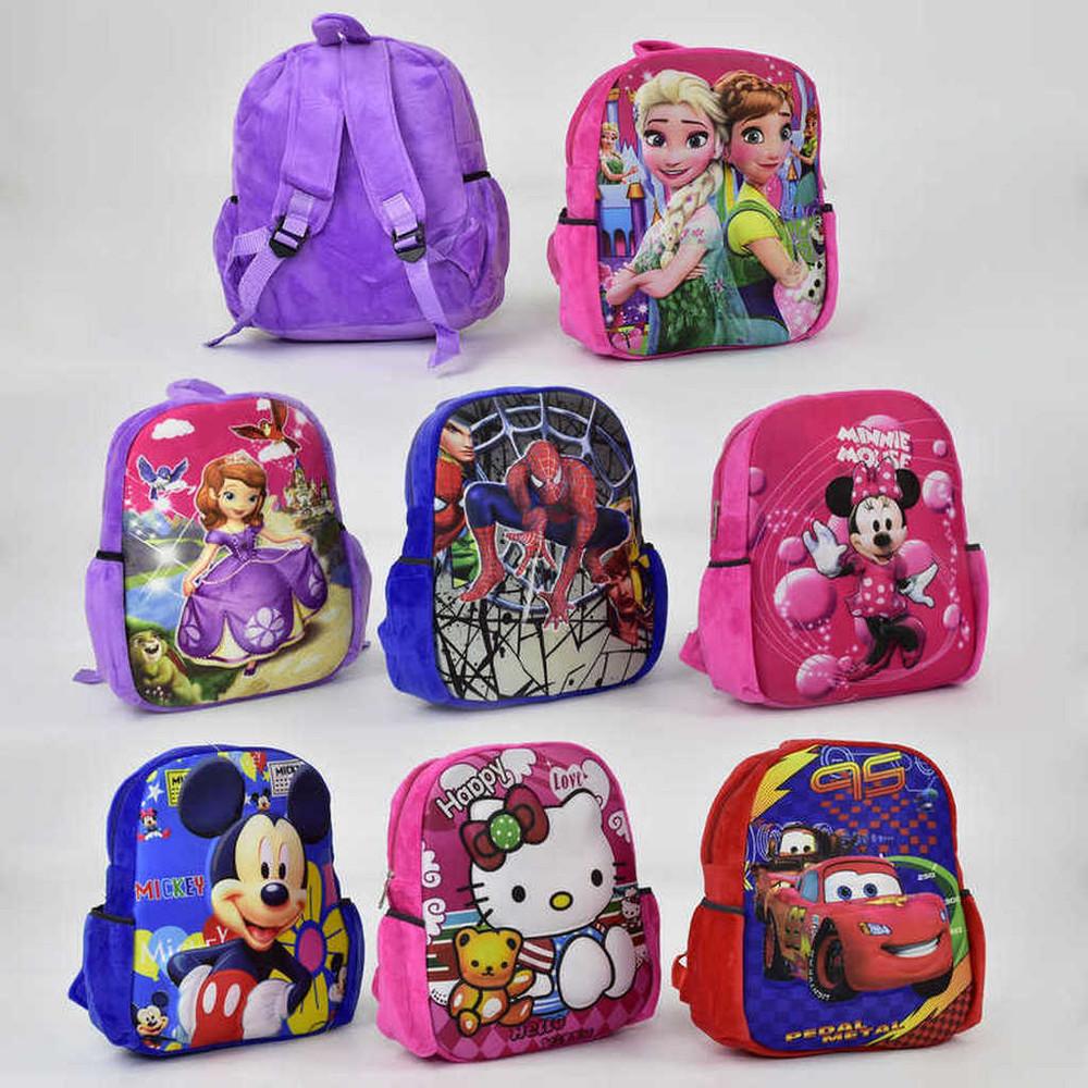 Детский рюкзак 3Д картинка 32 на 26 см фото №1