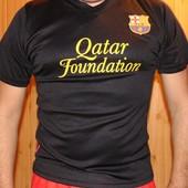 Фирменная футбольная футболка Ф.к Барселона Месси.м.