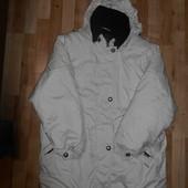 Теплая курточка в хорошем состоянии, на наш 50-52р.