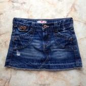 Джинсовая юбка фирмы Marks&Spencer на возраст 7 лет