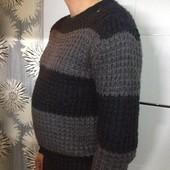 Крупной вязки  свитер