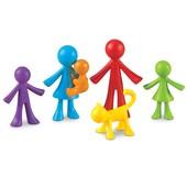 Семья, фигурки Learning Resourses, набор 6шт.