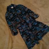 Флисовый халат 3-4 года