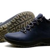Ботинки зимние Timberland, р. 40-45, черн., син, нат. кожа на меху, код kv-3955