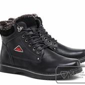Ботинки мужские на искусственном меху Модель № :W3376