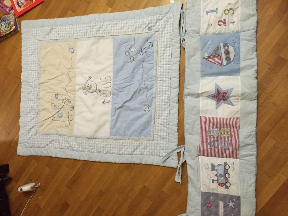 Постельный комплект: одеяло и бортик bruin фото №1