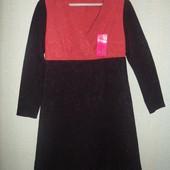М-L платье из фактурной ткани