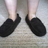 Туфлі-мокасіни замшеві розмір 10/43-44 стелька 28,5 см
