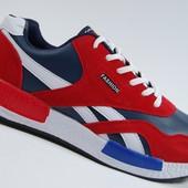 Яркие мужские кроссовки для осени