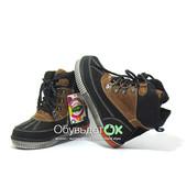 Скидка!!! Ботинки на натуральном меху  для мальчика.