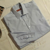 Фирменная качественная рубашка, рост 182-188, вор 43