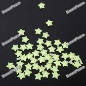 Светящиеся звезды на потолок и стены. 180 штук. Наклейки.