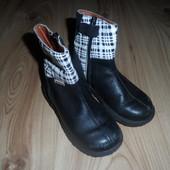 продам чоботи ботинки демисезонні, розмір 26