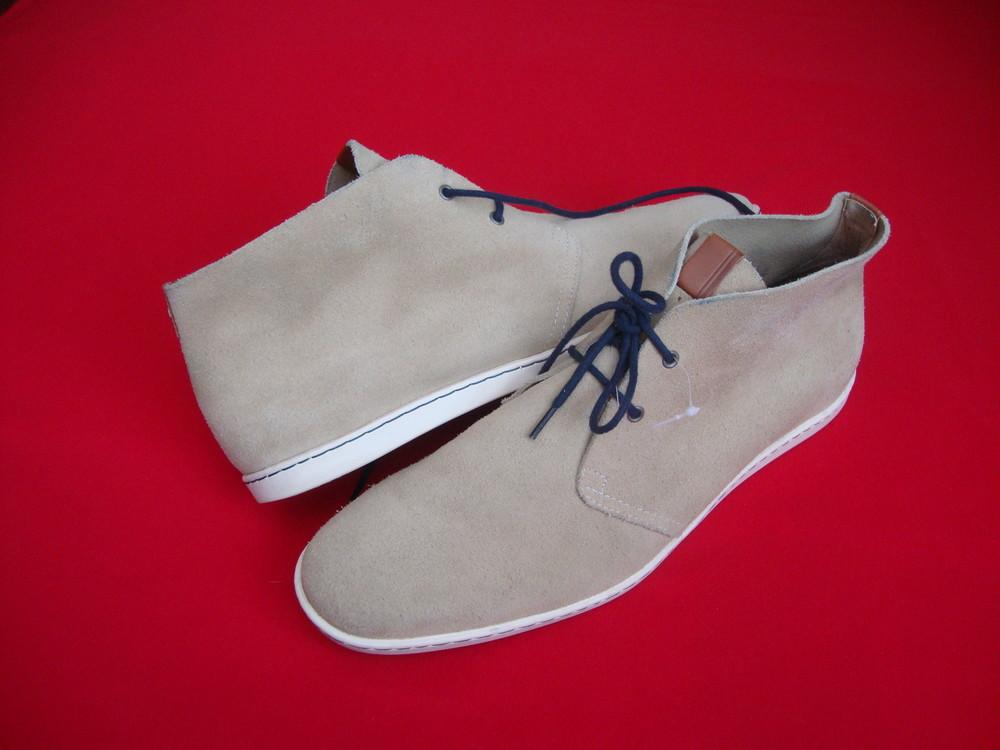 Ботинки Fred Perry оригинал натур замша 45-46 размер фото №1