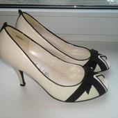 Туфли лодочки женские New Look p. 39 стелька кожа натуральная
