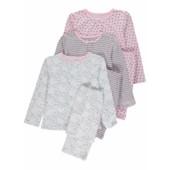 Трикотажные пижамы для девочек (98 см) George