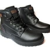 Ботинки Фабричные Зимние Кожзам (PR-22)