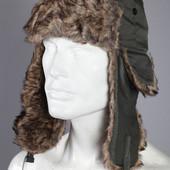 Мужская шапка ушанка - Италия.