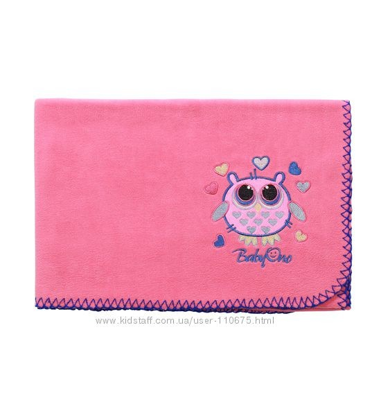Супермягкое флисовое одеяло babyono фото №1