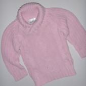 свитер на принцессу 6-9 мес