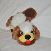 Комнатные мягкие тапочки игрушки зверюшки собачки