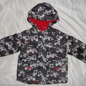 Куртка,дождевик,ветровка TU 1.5-2 года, 86-92 см, Италия, Оригинал