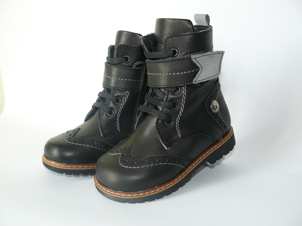 Зимние ортопедические ботинки на  мальчика 23, 28р. woopy фото №1