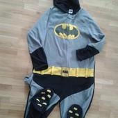 Пижама флисовая комбинезон Betmen