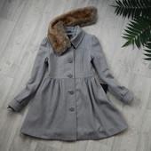 H&M Пальто Куколка р.М шерсть 60%