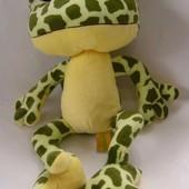 Жаба квакша, жабка тм левеня мягкие игрушки, м'які іграшки