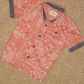 Рубашка Next на 12-18 мес